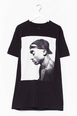 Tupac Plus Graphic Band Tee | Nasty Gal