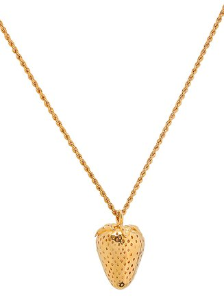 AMBUSH Strawberry Charm Necklace