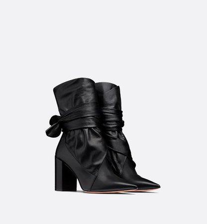 Dior Huggy lambskin ankle boot - Shoes - Woman | DIOR