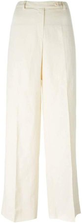 Pre-Owned wide leg trousers