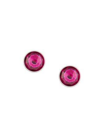 Balenciaga Plug crystal-embellished Earrings - Farfetch