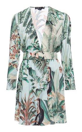 Eden Print Mini Dress by PatBO   Moda Operandi
