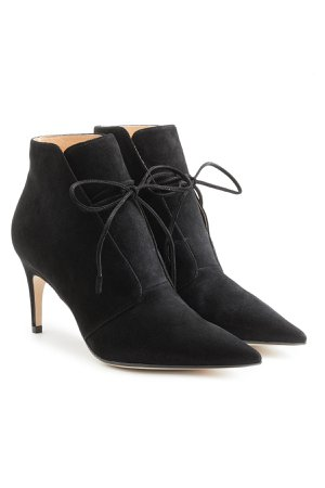 Suede Ankle Boots Gr. IT 36