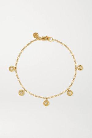 Gold Nesting Gem 18-karat gold diamond bracelet | Octavia Elizabeth | NET-A-PORTER