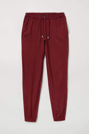 Pull-on Pants - Red