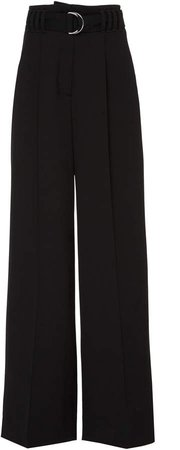Wool Belted Pant