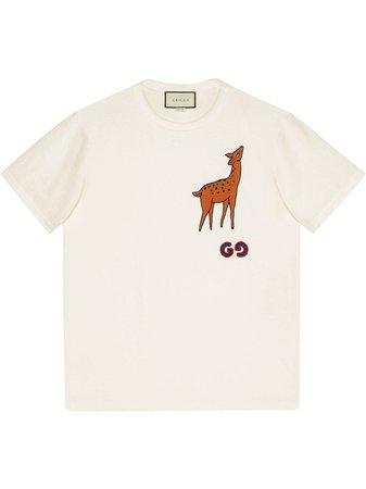 Gucci t-shirt à Patch Poitrine - Farfetch