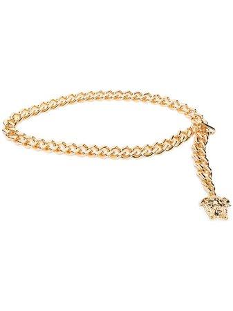 Versace Medusa chain-link Belt - Farfetch
