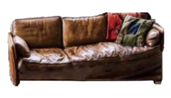 brown couch png