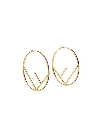 Fendi F Is Fendi Earrings - Farfetch