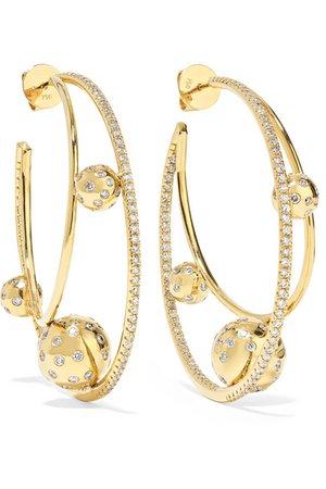 ofira hoop gold earrings