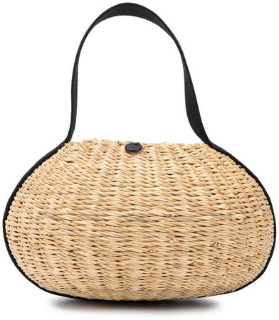 Or straw tote