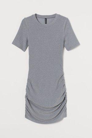 Glittery Dress - Gray