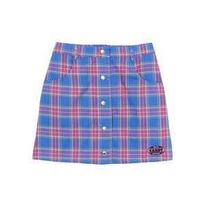 UNITE CANDY CHECK SKIRT