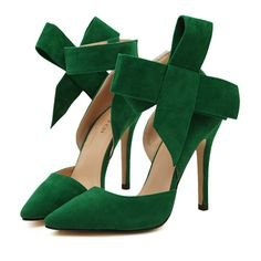 Gap Mobile.   Green shoes heels, Green heels, Emerald shoes