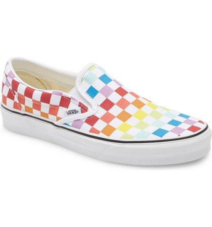 Vans UA Classic Slip-On Sneaker (Big Kid) | Nordstrom