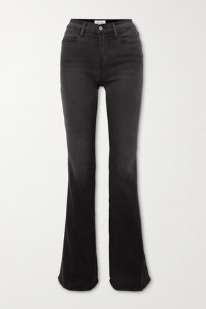 Le High Flare Jeans - Black