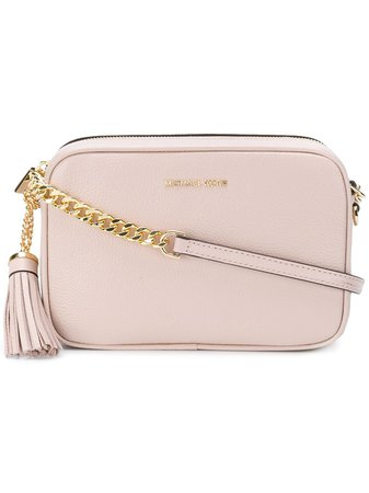 Michael Michael Kors Ginny Cross Body Bag 32F7GGNM8L Pink | Farfetch