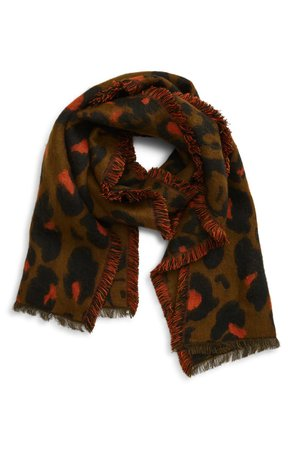 Madewell Jungle Cat Scarf | Nordstrom