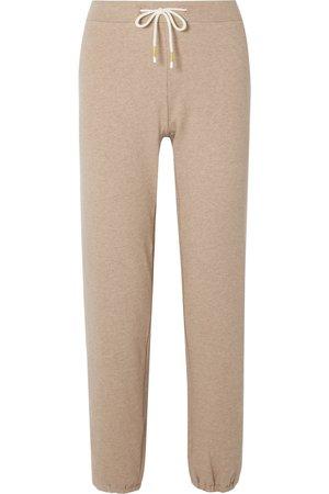 Tory Sport | Mélange cotton-blend jersey track pants | NET-A-PORTER.COM