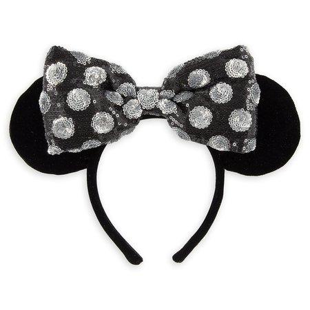 Minnie Mouse Ear Headband - Swap Your Bow | shopDisney