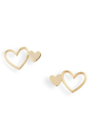 gorjana Heart Stud Earrings | Nordstrom