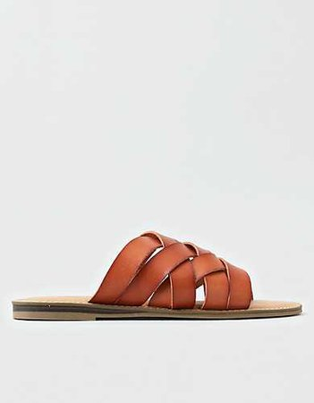 AEO Woven Slide Sandal