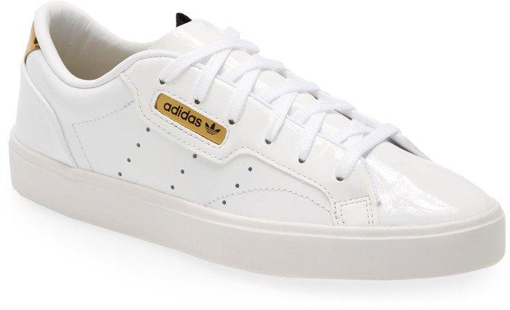 Sleek Leather Sneaker