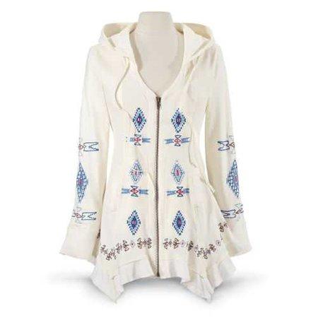 Boho Soho Long Jacket - Women's Romantic & Fantasy Inspired Fashions