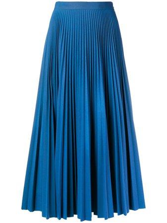 Maison Margiela Pleated Midi Skirt - Farfetch
