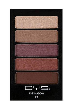 BYS 5 Shade Eyeshadow Compact Eye Makeup