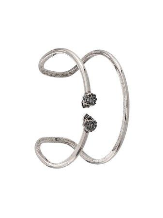 Alexander McQueen Skull Bracelet - Farfetch