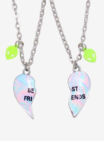 Alien Best Friends Layered Necklace