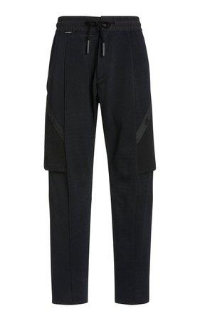 Textured Cotton Track Pants by ByBorre   Moda Operandi