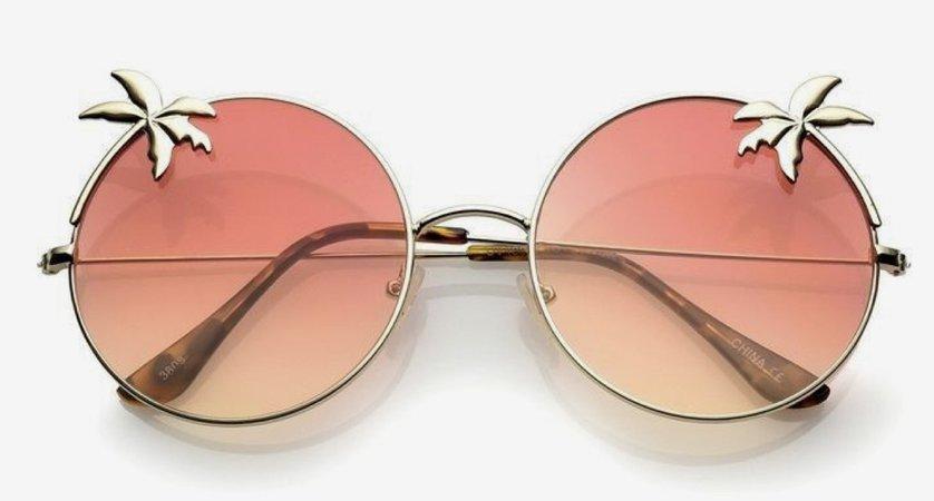 palm sunglasses