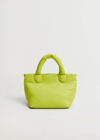 Quilted mini cross-body bag - Women | Mango USA