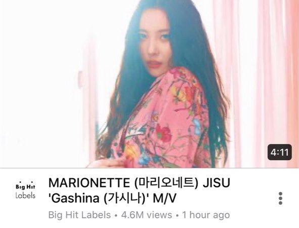 'Gashina (가시나)' M/V - Jisu's Solo