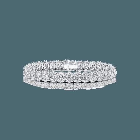 Classic Graff | Oval Shape Bracelet, Diamond | Graff