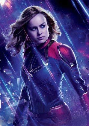 The Avengers : Endgame – Captain Marvel – U.S Textless Movie Wall Poster Print - 30cm x 43cm / 12 Inches x 17 Inches: Amazon.de: Küche & Haushalt