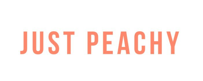 just peachy text