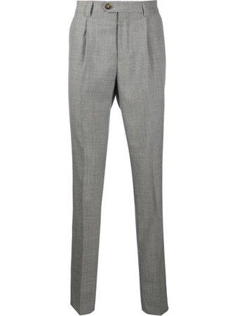 Brunello Cucinelli mid-rise Tailored Trousers - Farfetch