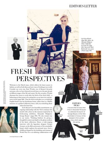 Kate Winslet : read her words in latest Harper's Bazaar interview, Complete, + Insurgent SFX scans #KateWinslet | Sew Kate Winslet
