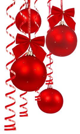 red christmas baubles png - Google Search