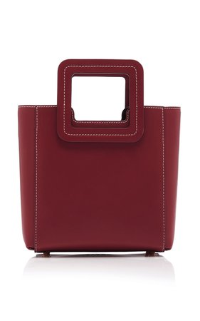 Shirley Mini Leather Tote by Staud   Moda Operandi
