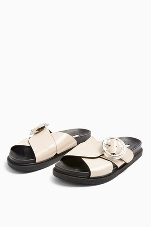 PEDRO Stone Footbed Sandals | Topshop