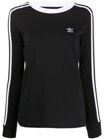 Adidas 3-Stripes long-sleeve Top - Farfetch