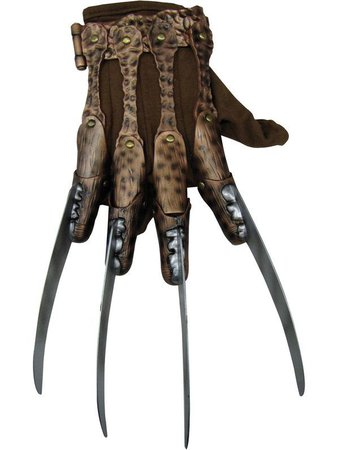 Adult Deluxe Freddy Glove - Costume Accessories for 2019 - Wholesale Halloween Costumes