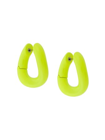 Balenciaga Loop Earrings - Farfetch