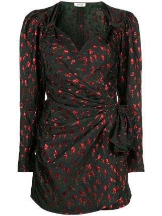 Attico Draped Mini Dress - Farfetch