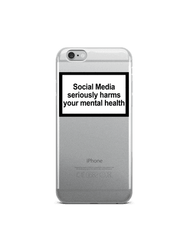 MENTAL HEALTH WARNING IPHONE CASE – Urban Sophistication